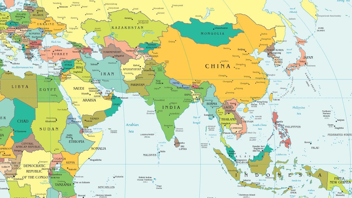 Gt административная карта евразии